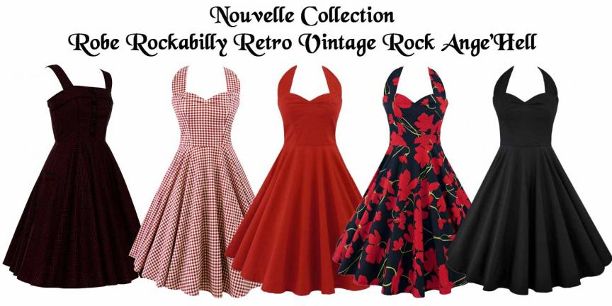 Robe rock ange'hell