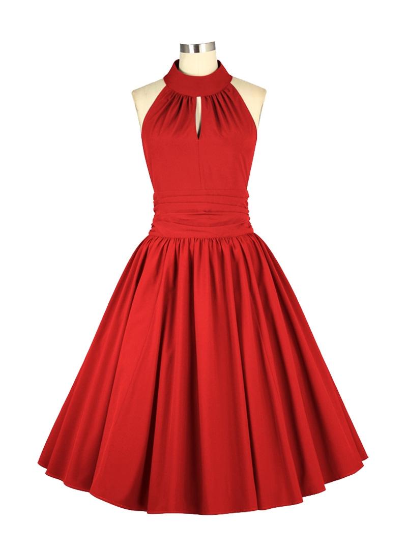 Vintage Année 50 en ce qui concerne robe rockabilly pin-up vintage chicstar - rock ange'hell