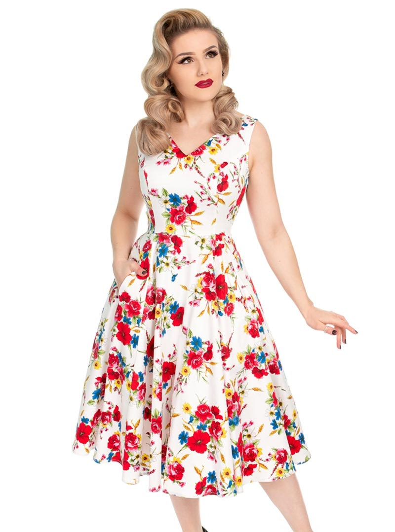 be038586dd Robe Pin-Up Retro Années 50 HR London