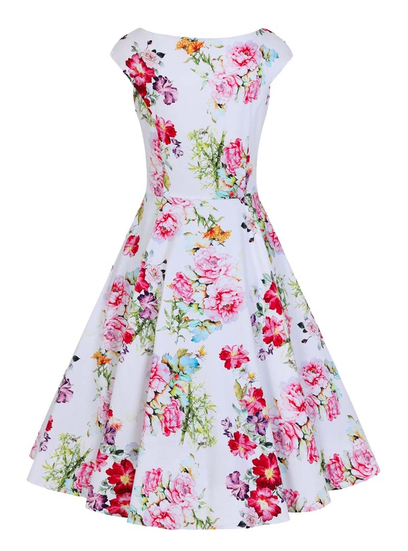 60eb4512e3 Robe Pin-Up Années 50 Rockabilly HR London