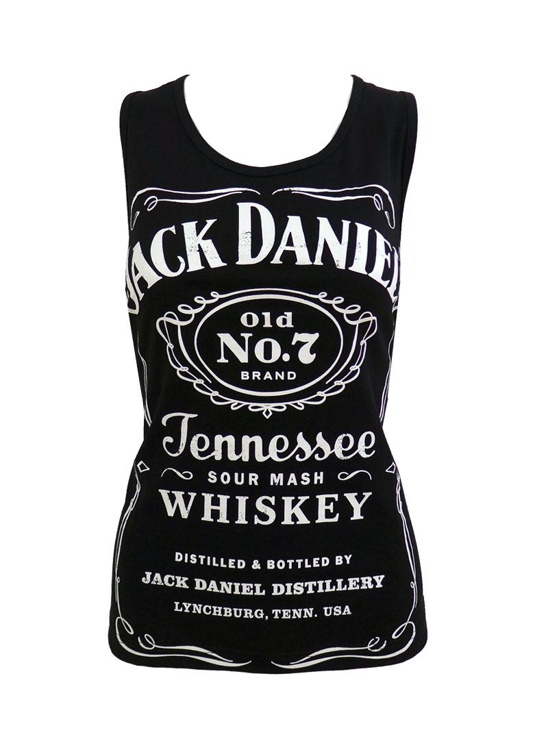 Débardeur femme Jack Daniel's \'Classic Logo\'