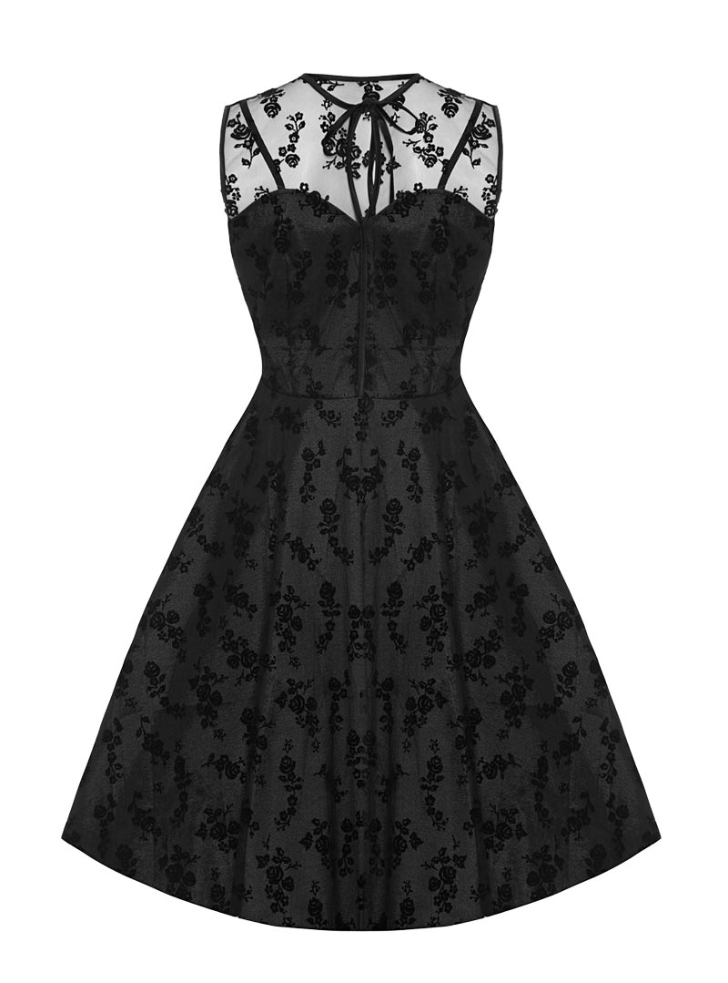 b1319fa0de22 Robe Soirée Rockabilly Pin-Up Vintage Voodoo Vixen