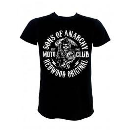 Rock Homme Club Anarchy Of Punk Shirt Moto Tee Sons gzwqExa
