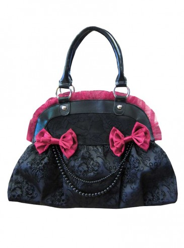 "Sac Gothique Lolita Banned ""Black Pearl"""