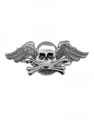 "Boucle de ceinture Rock Punk ""Skull Wing"""