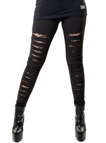 "Legging rock punk Vixxsin (Evil Clothing) ""Slasher"""