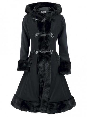 """Manteau Gothique Lolita Poizen Industries (Evil Clothing) """"Minx"""""""