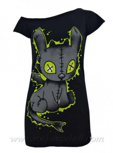 """Débardeur Gothique Rock Cupcake Cult (Evil Clothing) """"Voodoo Dragon"""""""