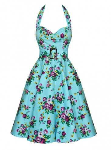 "Robe Retro Rockabilly Vintage Hell Bunny ""May Day"""