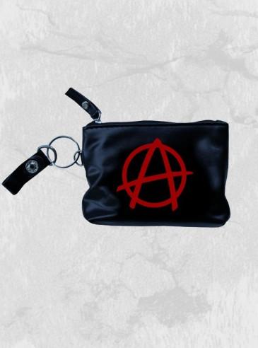 "Porte-Monnaie Rock Punk Rock Daddy ""Red Anarchy"""