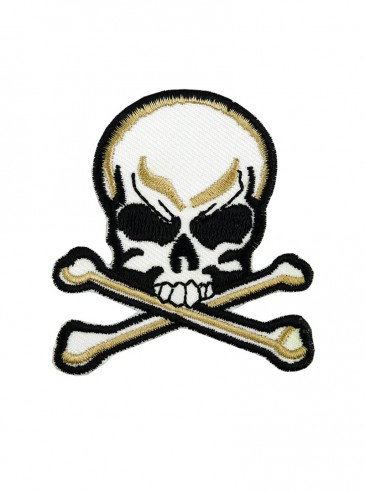 "Patch rock punk Rock Daddy ""Skull"""