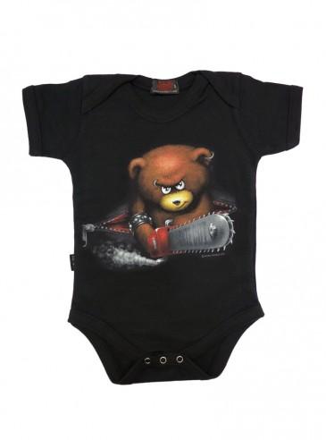 "Body Bébé Rock Gothique Spiral ""Beware the Bear"""