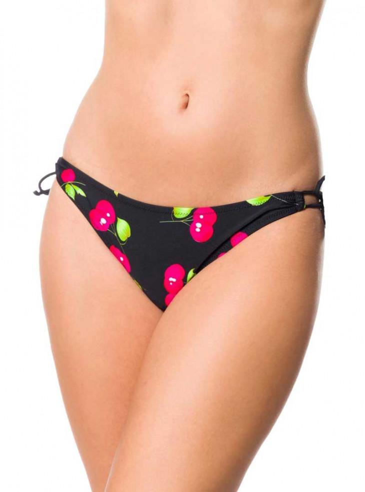"Bas Bikini Maillot de bain Rockabilly Vintage Pin-Up Retro Belsira ""Cherry"""