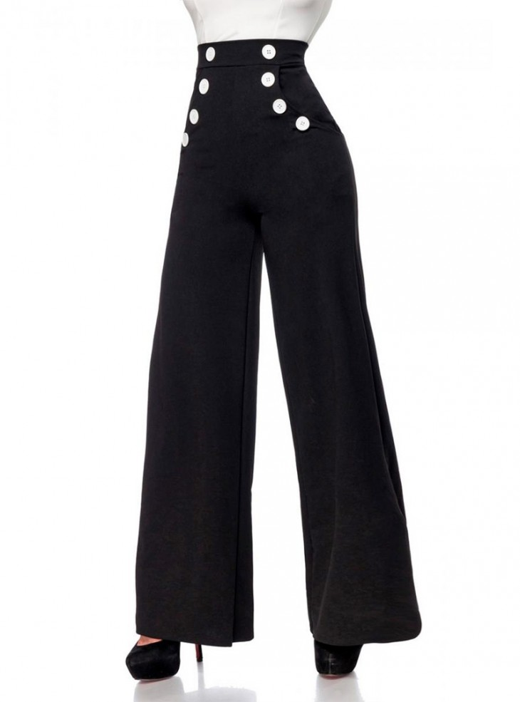 "Pantalon Retro Vintage Belsira ""Lauren"""