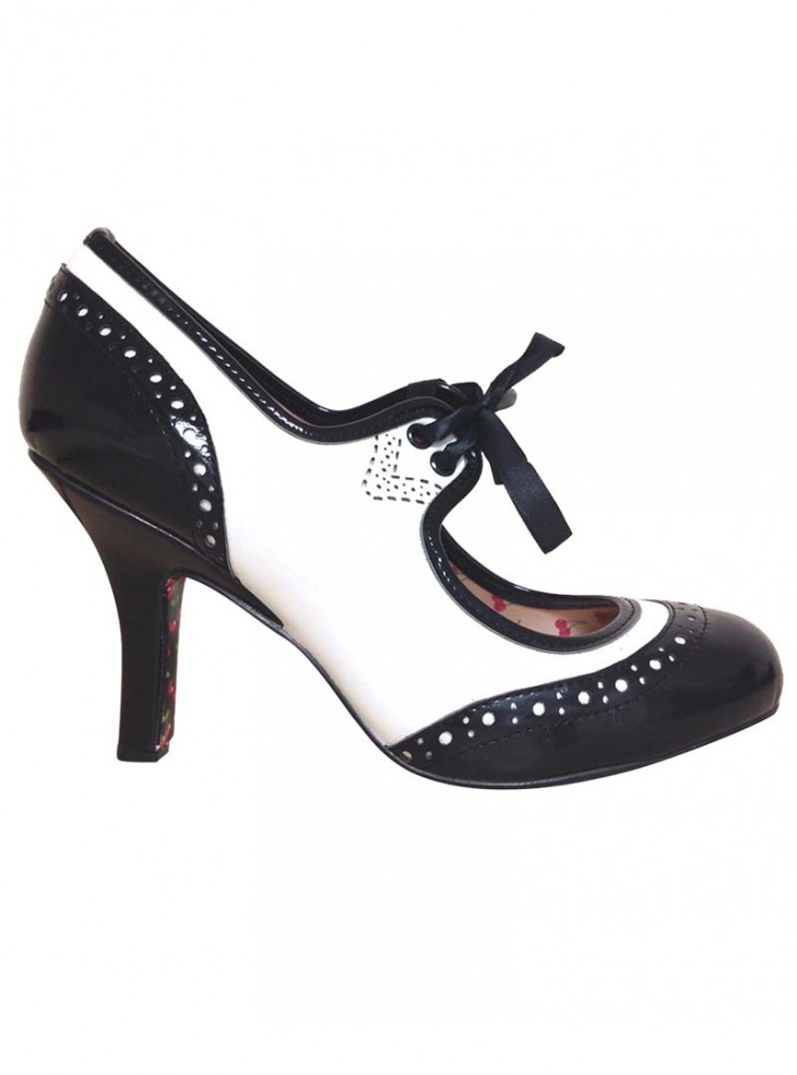 """Chaussures Escarpins Pin-Up Vintage Rockabilly Banned """"Dancing in the Street"""""""