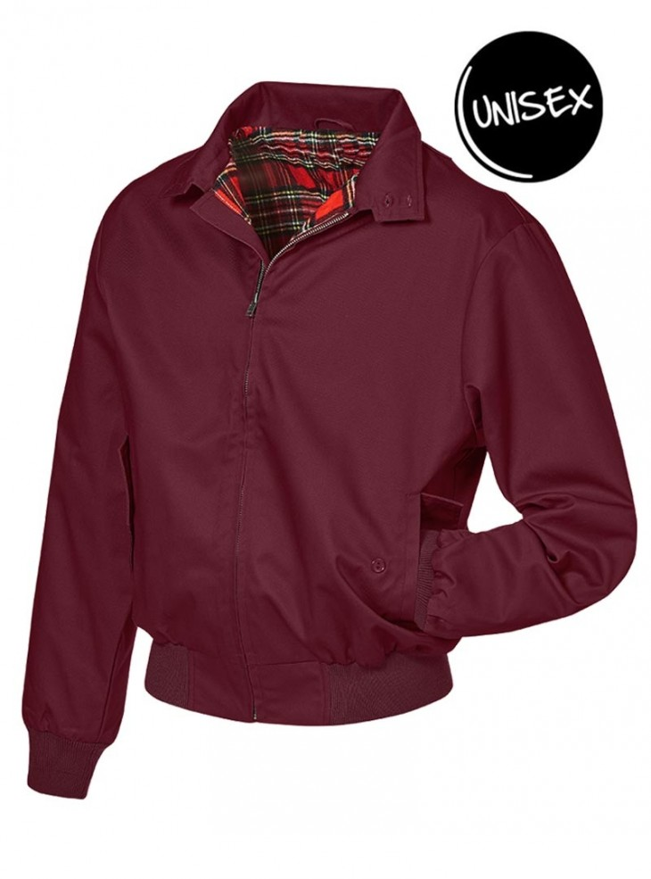 "Veste Sweat Unisexe Punk Rock Banned ""Lord Canterbury Burgundy"""