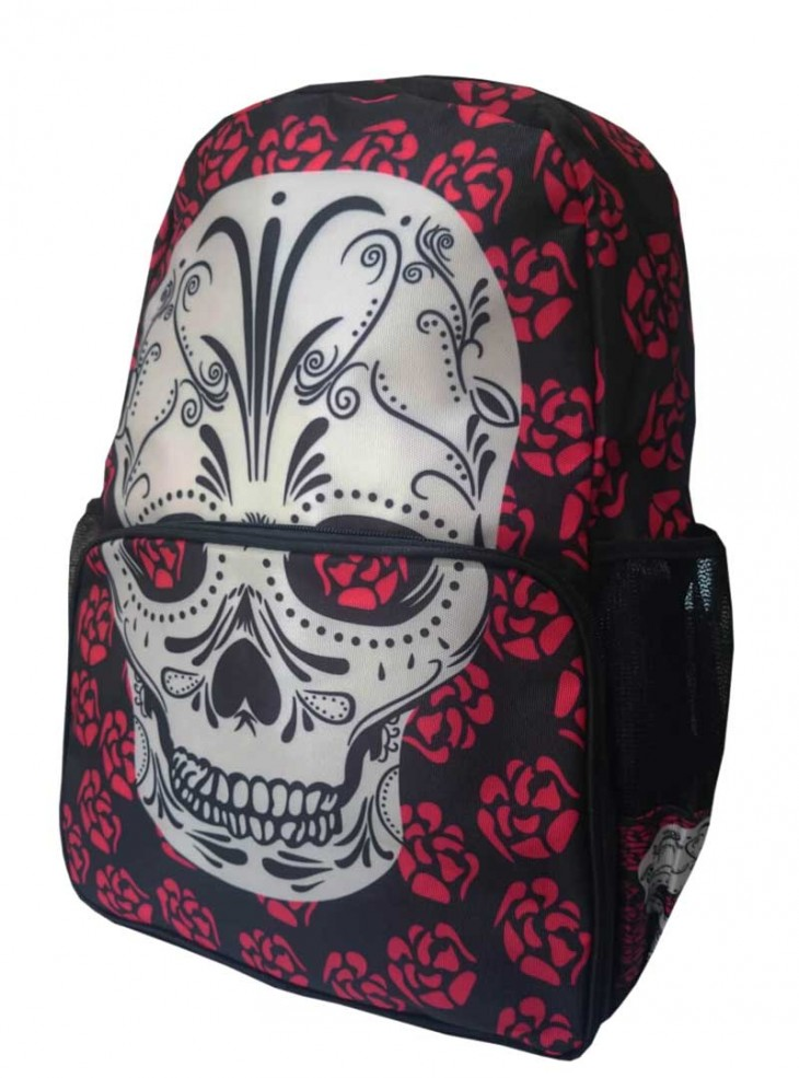 "Sac à dos Rock Gothique Banned ""Viera Skull"""