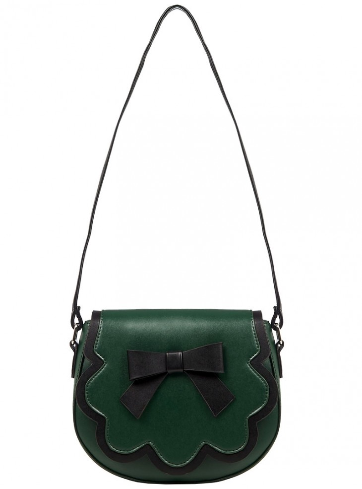 """Sac Années 50 Pin-Up Rockabilly Banned """"Rocco Green"""""""