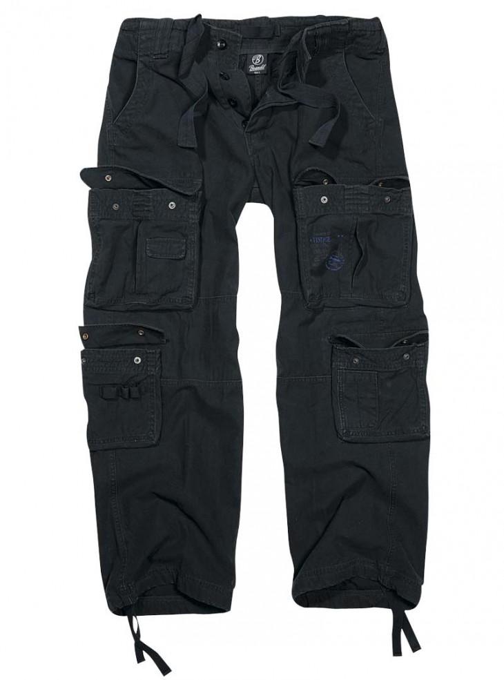 """Pantalon Treillis Homme rock punk Brandit """"Pure Vintage Black"""""""
