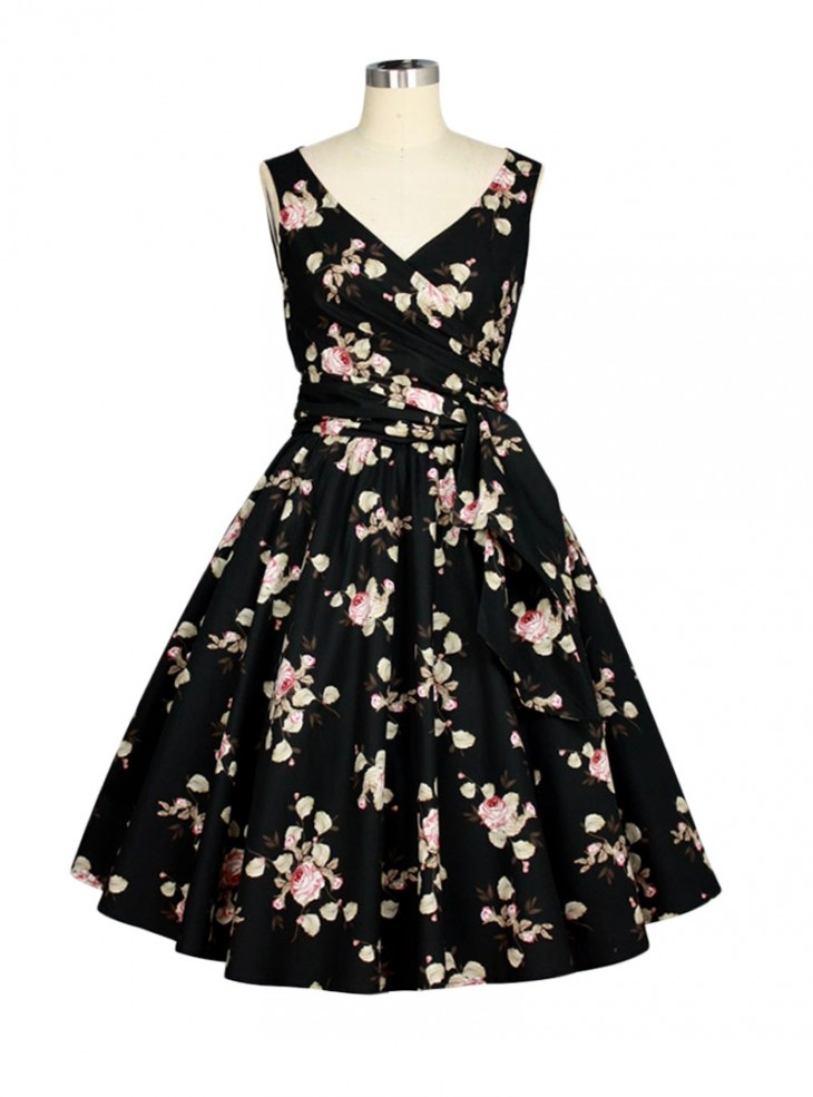 "Robe Retro Rockabilly Vintage Chicstar ""Brianna"""