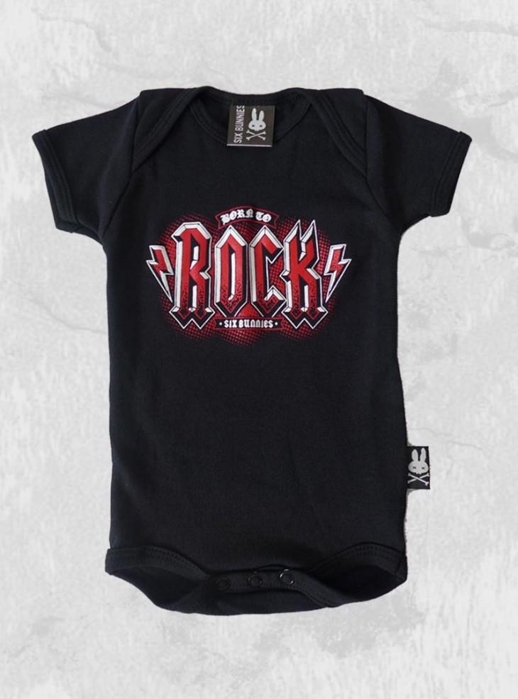 """Body Bébé Rock Six Bunnies """"Born To Rock"""""""