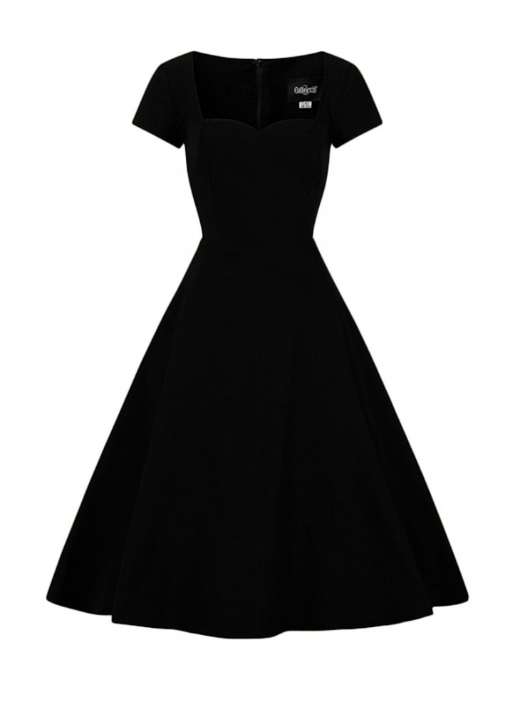 """Robe Rockabilly Pin-Up Années 50 Vintage Collectif """"Kristy"""""""