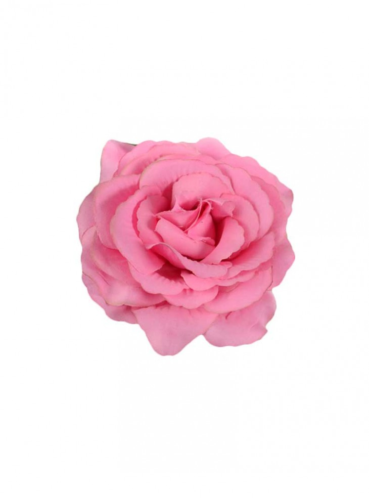 "Barrette Rockabilly Vintage Poizen Industries (Evil Clothing) ""Pink Flower"""
