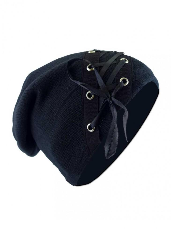 """Bonnet rock gothique Vixxsin (Evil Clothing) """"Bind Hat"""""""