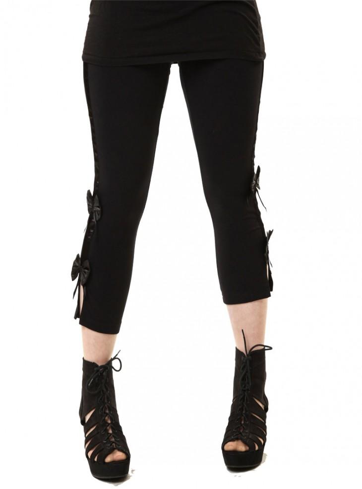 """Legging gothique rock Poizen Industries (Evil Clothing) """"Eve"""""""