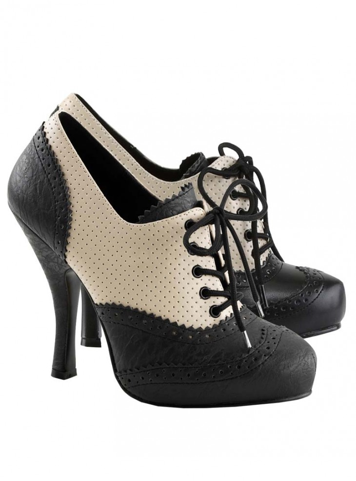 """Chaussures Bottines Pin-Up Rockabilly Pin Up Couture """"Cutie Booties"""""""