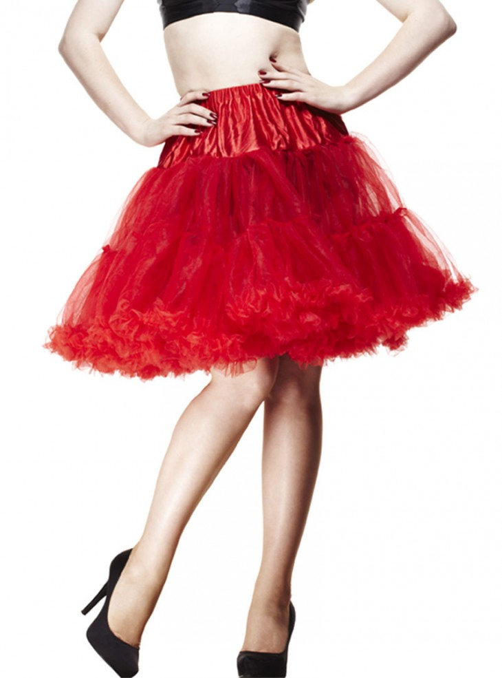 """Jupon 55 cm Rockabilly Pin-up Hell Bunny """"Red"""""""