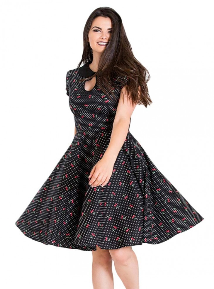 "Robe Pin-Up Vintage Rockabilly Hell Bunny ""Sophie"""