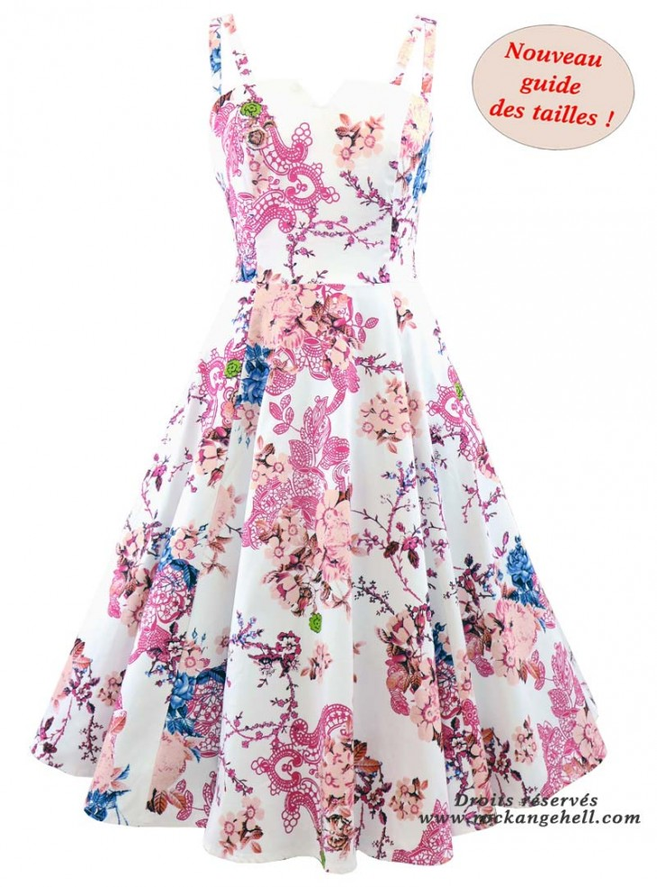 "Robe Rockabilly Pin-Up Retro HR London ""Heavenly"""