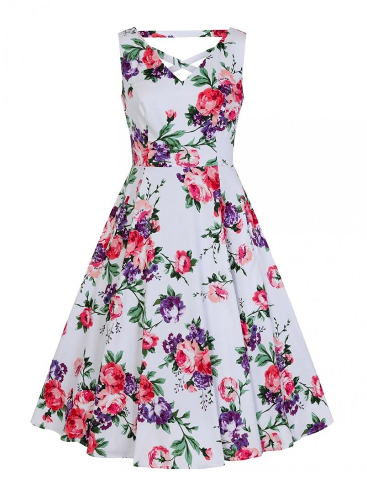 "Robe Pin-Up Rockabilly Retro HR London ""Molly Rose"""