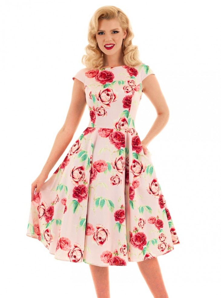 "Robe Pin-Up Retro Rockabilly HR London ""Shirley"""