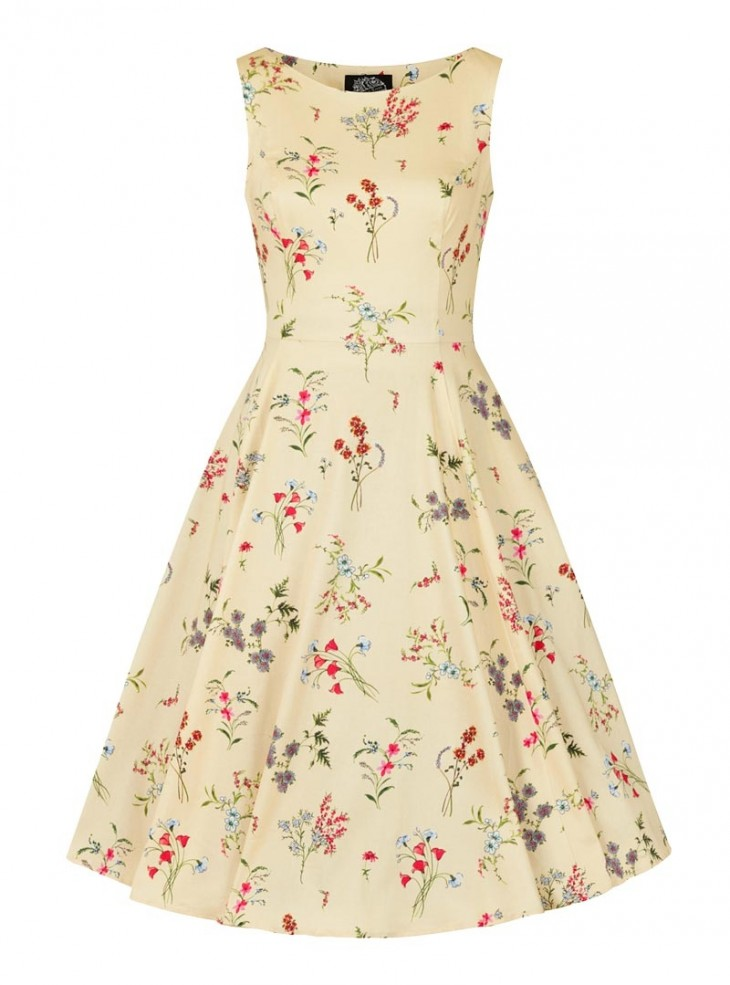 "Robe Rockabilly Retro Pin-Up HR London ""Bridget"""