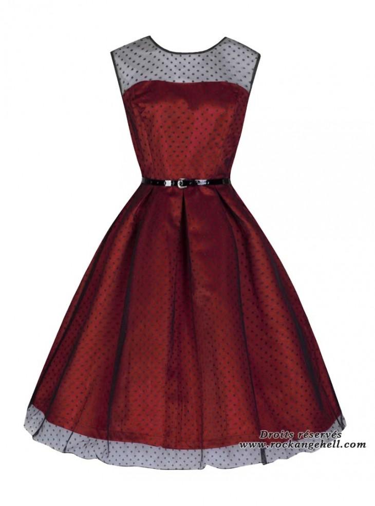 robe soir e mariage retro vintage rockabilly lindy bop. Black Bedroom Furniture Sets. Home Design Ideas