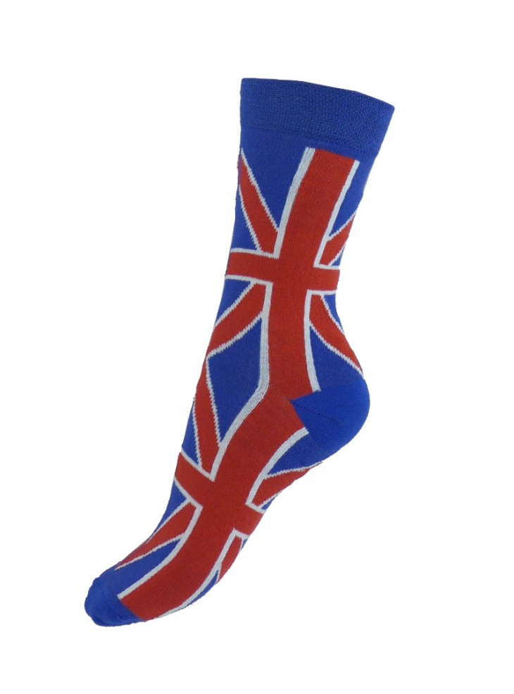"Chaussettes médium Punk Rock Macahel ""Union Jack"""