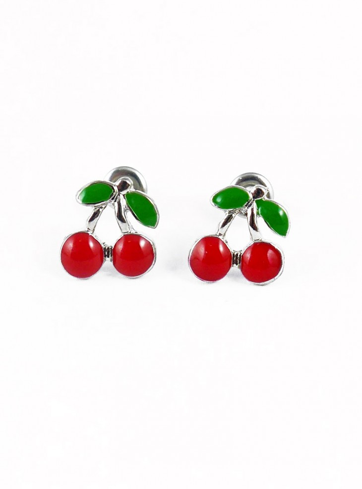 "Boucles d'oreilles Rockabilly Retro Rock Daddy ""Little Cherry"""