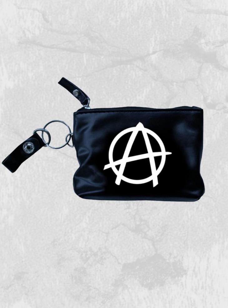 """Porte-Monnaie Rock Punk Rock Daddy """"White Anarchy"""""""