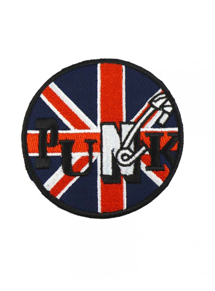 "Patch punk Rock Daddy ""British Punk"""