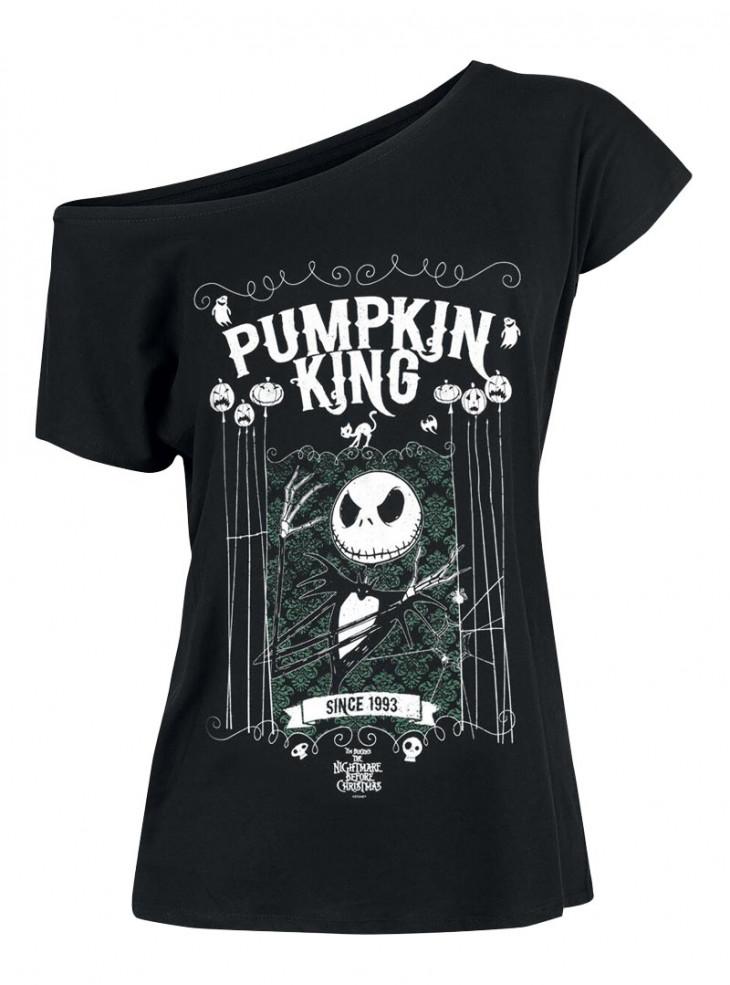 "Tee-Shirt Disney L'Étrange Noël de Monsieur Jack ""Pumpkin King"""