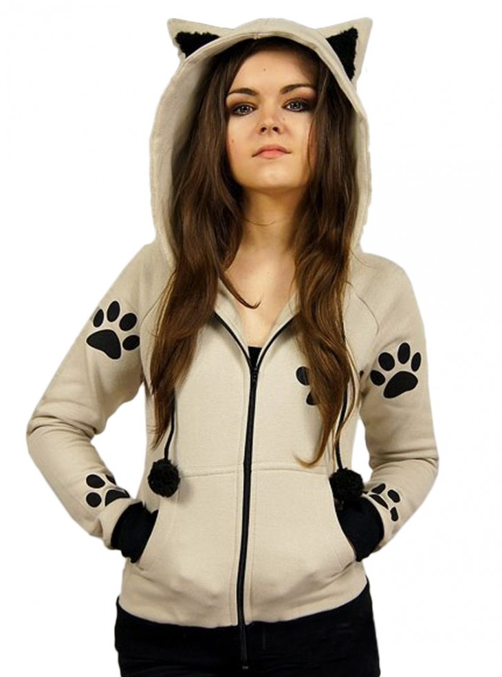 "Sweat Chat Rock Gothique Kawaii ""Cat Paws"""