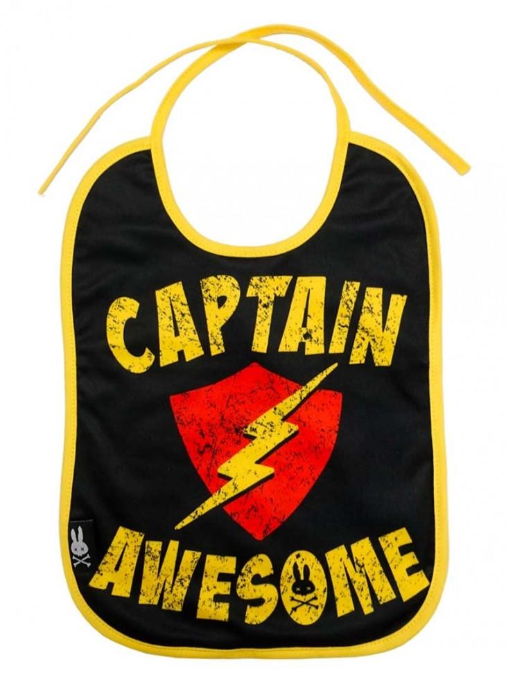 "Bavoir Rock Metal Six Bunnies ""Captain Awesome"""
