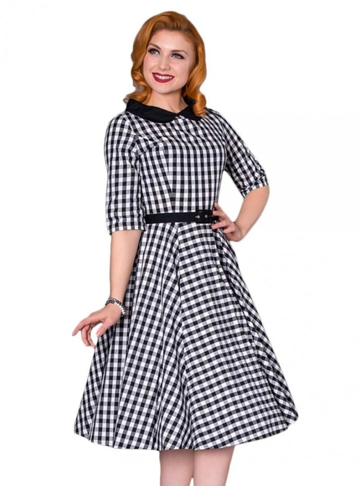 "Robe Retro Rockabilly Vintage Sheen ""Emily"""