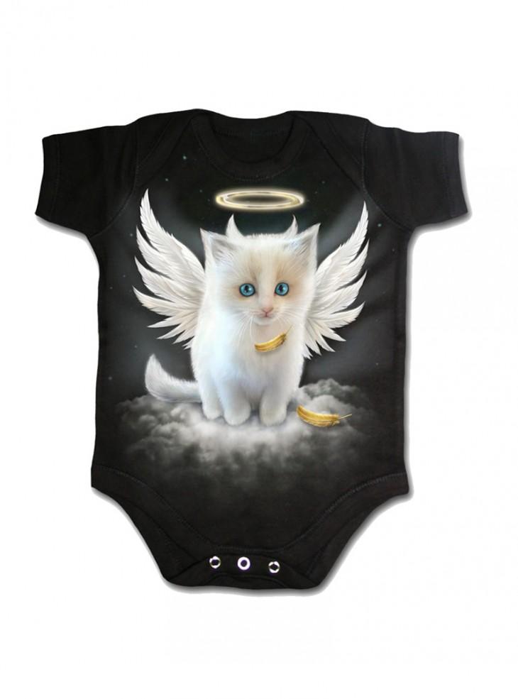 """Body Bébé Dark Wear Gothique Spiral """"Kitten Angel"""""""