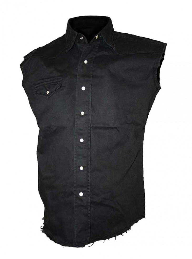 """Chemise Rock sans manches Spiral """"Workers"""""""