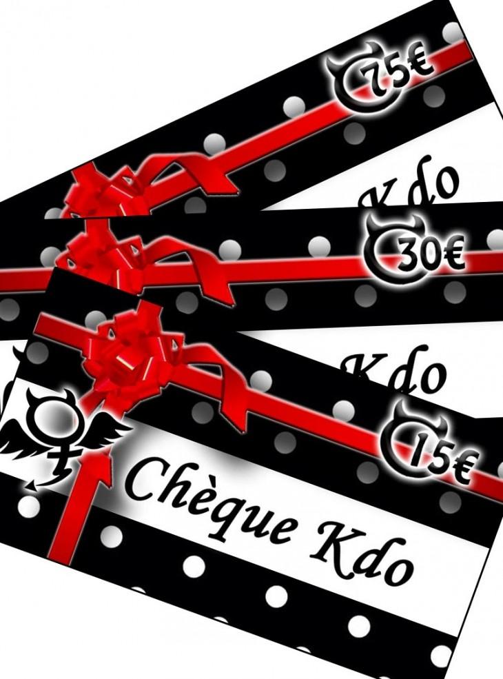 Chèque Kdo
