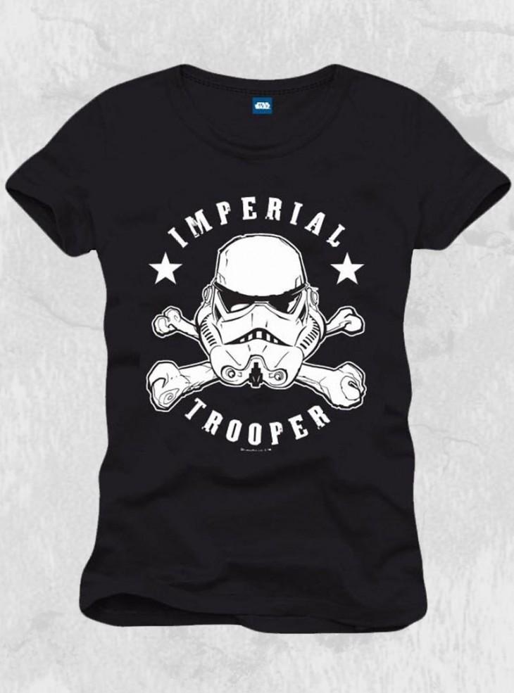 "Tee-shirt homme Star Wars ""Stormtrooper Skull Head"""