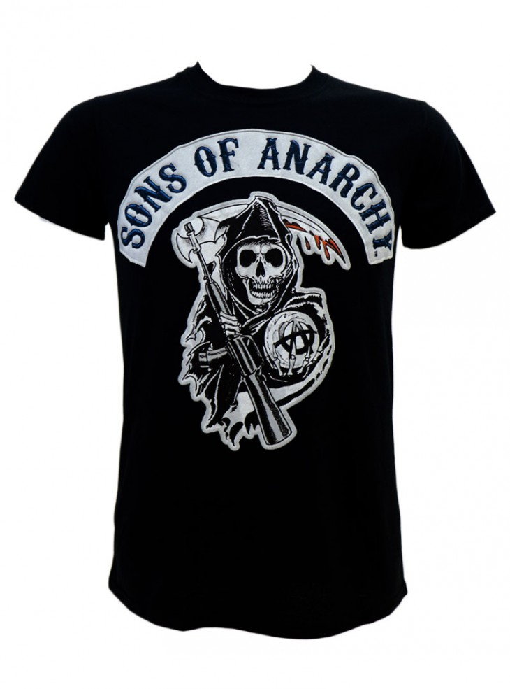 "Tee-shirt Homme Sons of Anarchy ""Logo Patch"""